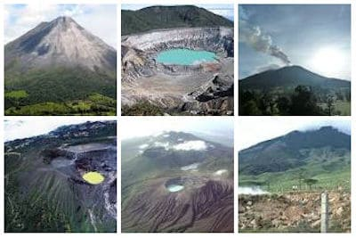 Lista volcanes
