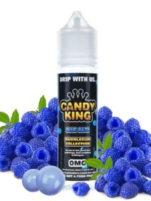 BLUE RAZZ BUBBLEGUM COLLECTION CANDY KING TPD 50ML 0MG
