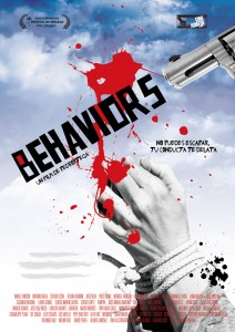 "cartel del largometraja ""Behaviors"""