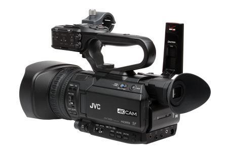 JVC presenta en el CES 2016 su versión de cámara 4K con marcador integrado para deportes