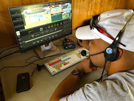 El torneo mundial de tenis WTT 2019 en streaming con el estudio móvil de JVC