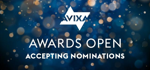 AVIXA anuncia nuevos premios para honrar a los profesionales de diseño de eventos y a los talentos emergentes de la industria AV