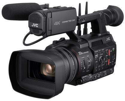 JVC multiplica la conectividad de las cámaras CONNECTED CAM™ con el protocolo de streaming SRT