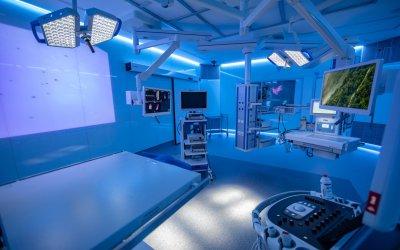 Proyección Christie en los nuevos quirófanos pediátricos del Hospital Sant Joan de Déu de Barcelona