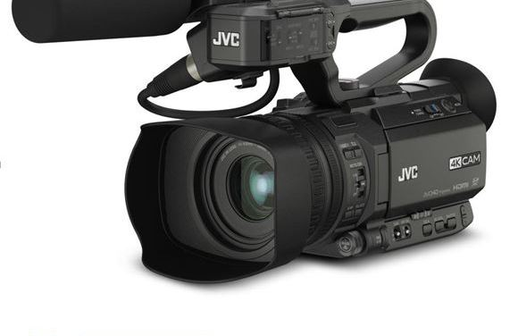 JVC lanza una actualización de firmware para formatos de imagen cuadrados y verticales de la cámara 4K GY-HM250