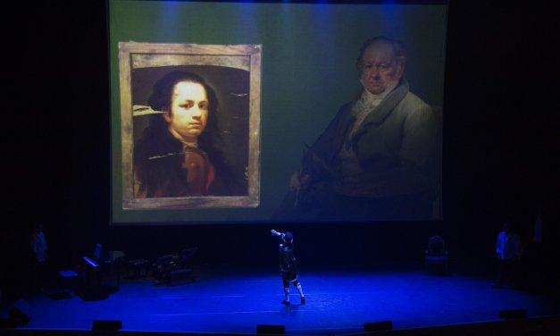 La magia de Pandoras Box realza la obra del pintor Francisco de Goya