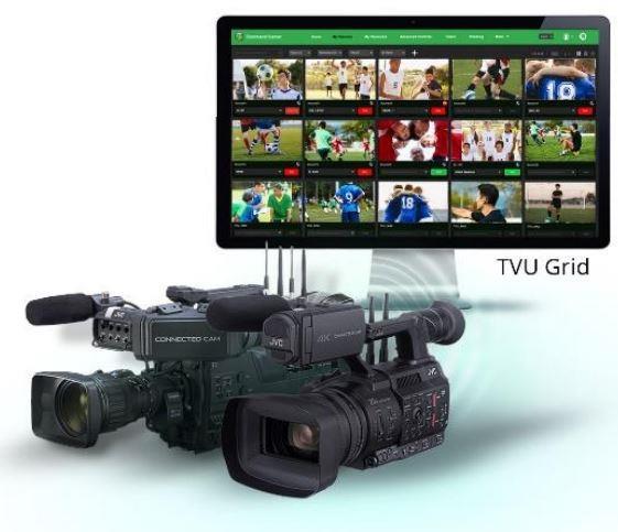 JVC proporciona un acceso fluido al ecosistema de TVU Networks con las cámaras CONNECTED CAM
