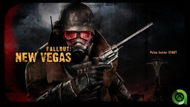 Fallout New Vegas area xbox