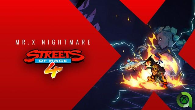 Streets Of Rage 4: Mr. X Nightmare