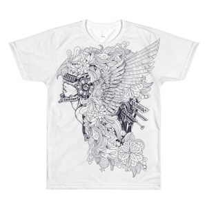 Celestial men's crewneck t-shirt