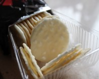 Japanese rice crackers packet