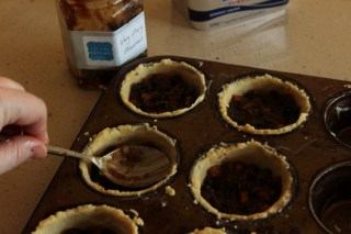 fill with mincemeat