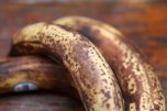 Brown bananas are ideal for baking