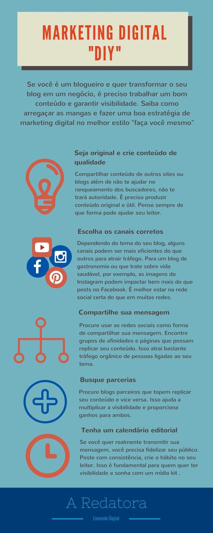 Marketing de Conteúdo DIY