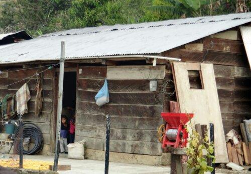homes surrounding San Cristobal de Las Casas
