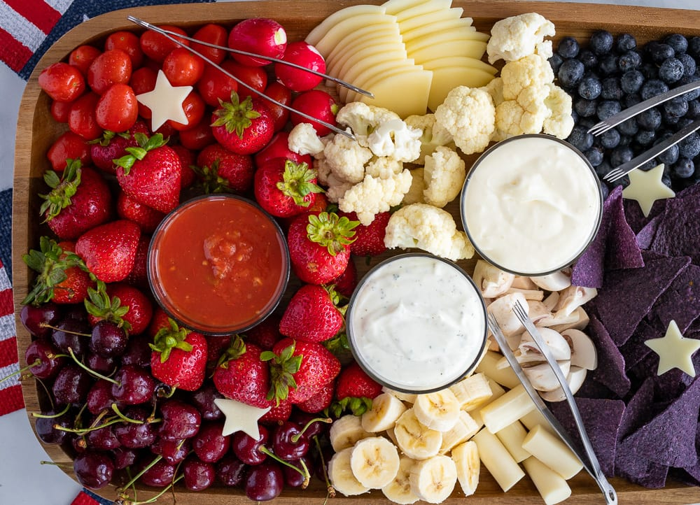 Fourth of July Charcuterie Board