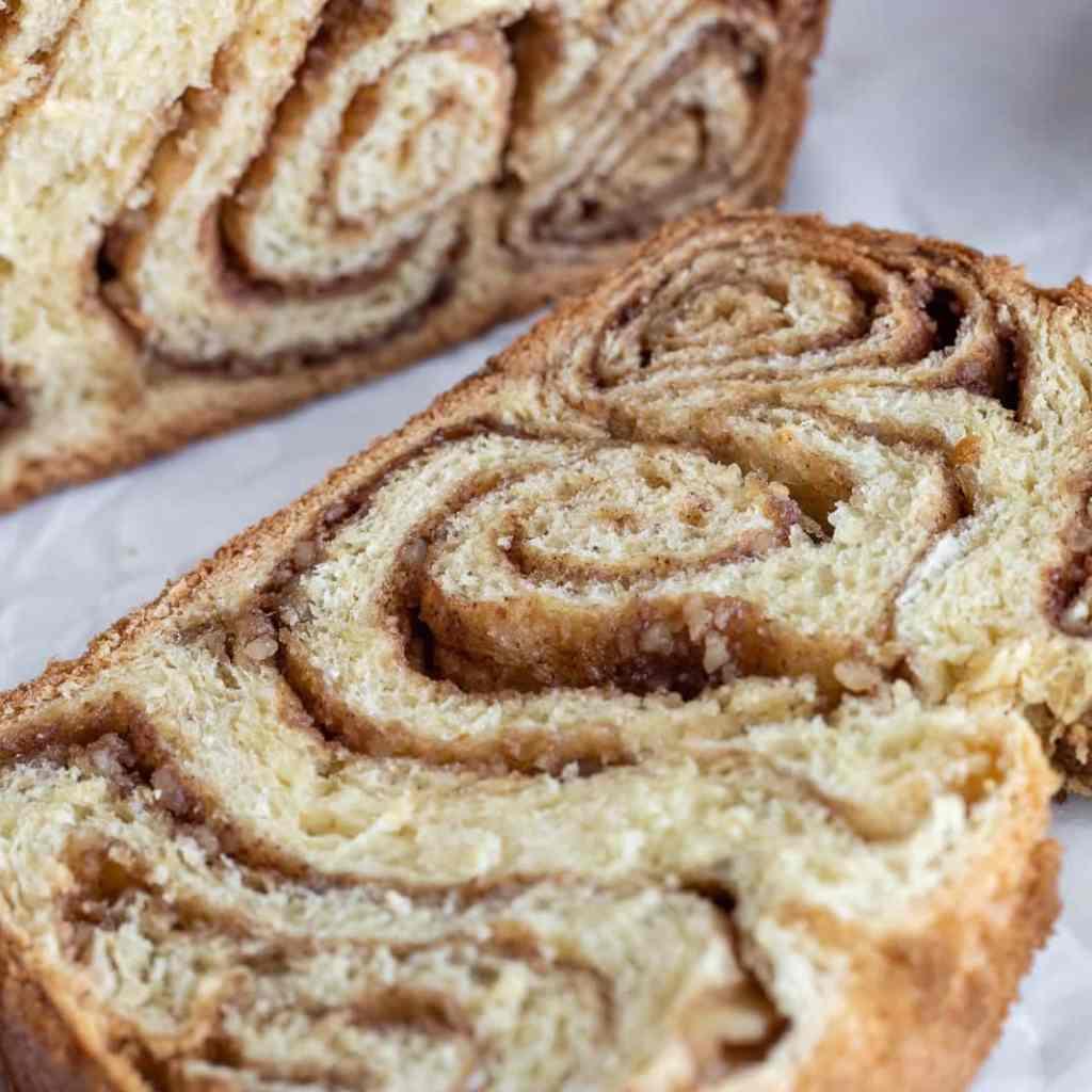 Povitica-Style Swirled Brioche