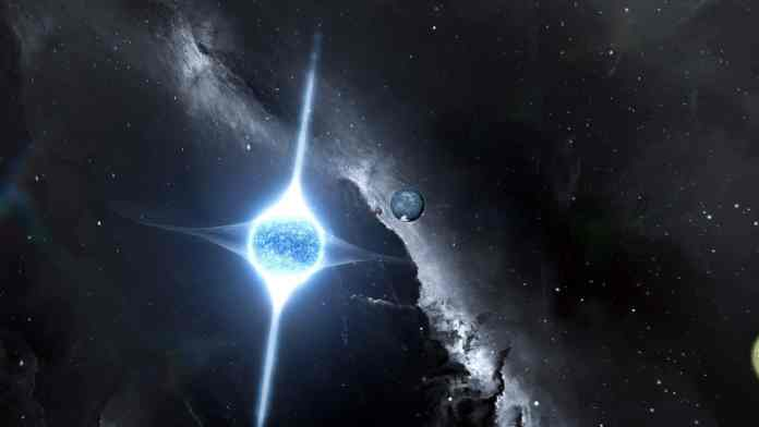 gravitational waves from the collision of two neutron stars