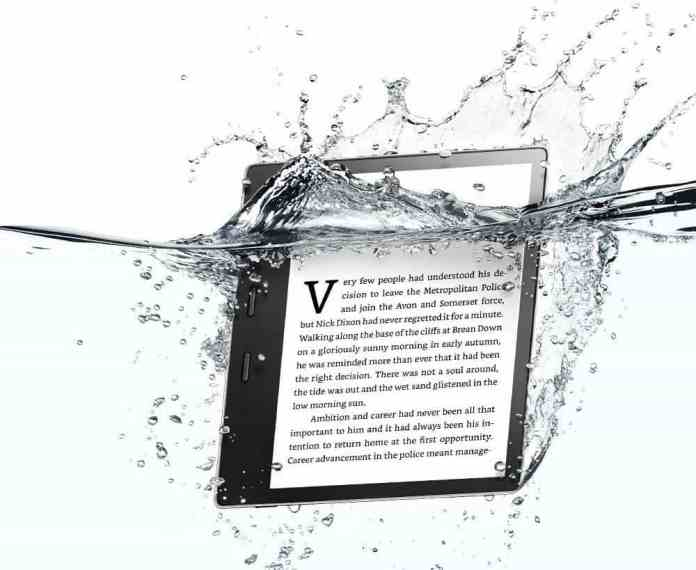 waterproof Kindle Oasis