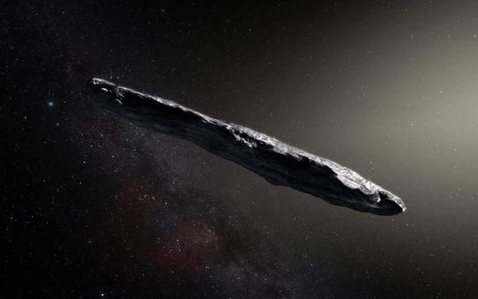 spinonews Oumuamua,an interstellar asteroid
