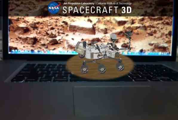 nasa spacecraft ar