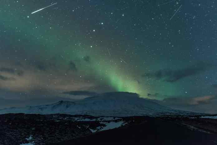 spinonews Lyrid meteor shower