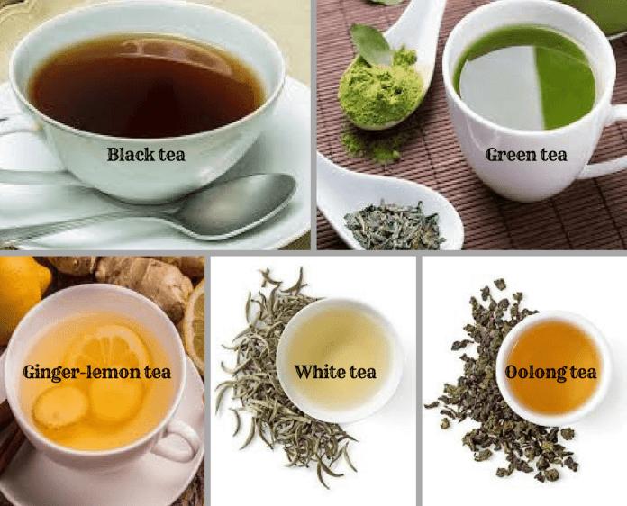 spinonews Types of Teas