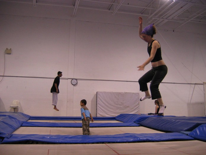 spinonews Trampoline exercise