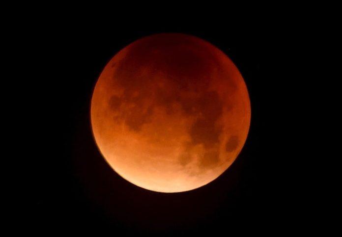 spinonews Lunar eclipse