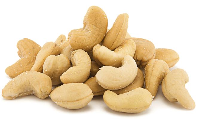 areflect cashew nuts