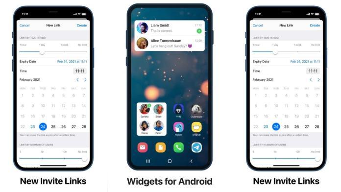 Telegram's new update