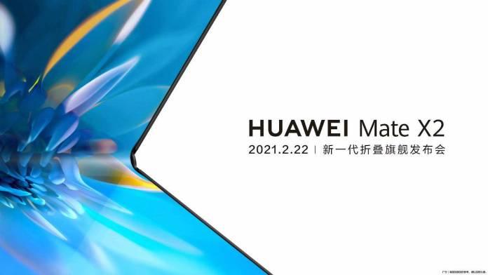 new Huawei Mate X2