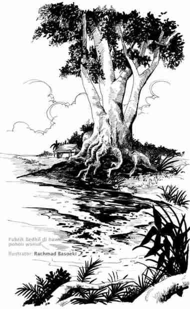 Pabrik bedhil dibawah pohon ngunut