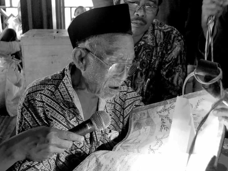 Pembacaan Macapat oleh Almarhum Mbah Nurhasyim