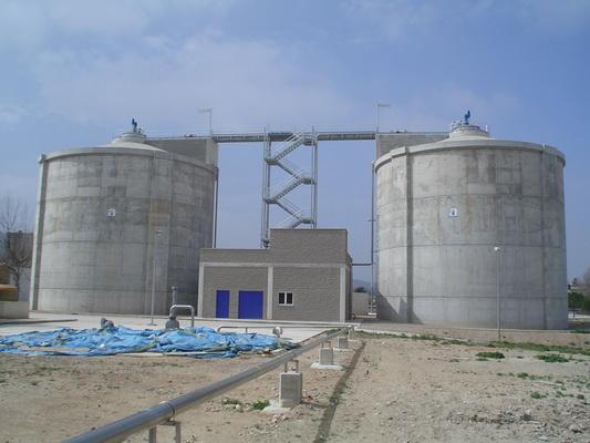 Estabilització de fangs d'arema