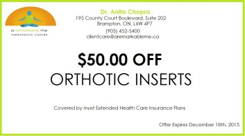 Orthotic Inserts Coupon