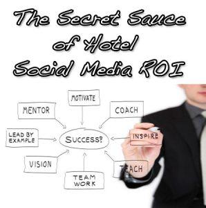 The Secret Sauce of Hotel Social Media ROI