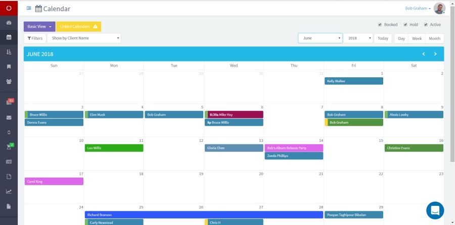 EventTemple Calendar