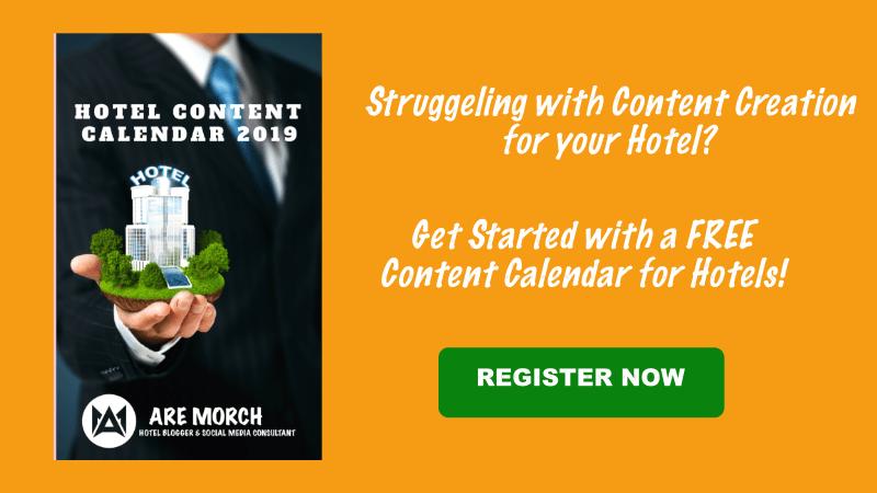 Free Hotel Content Calendar