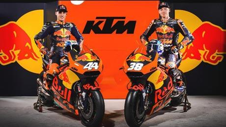 Pembalap KTM, Foto: Sebas Romero