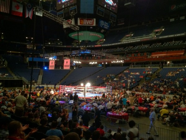 Nationwide Arena: A Night at the Fights | Arena District