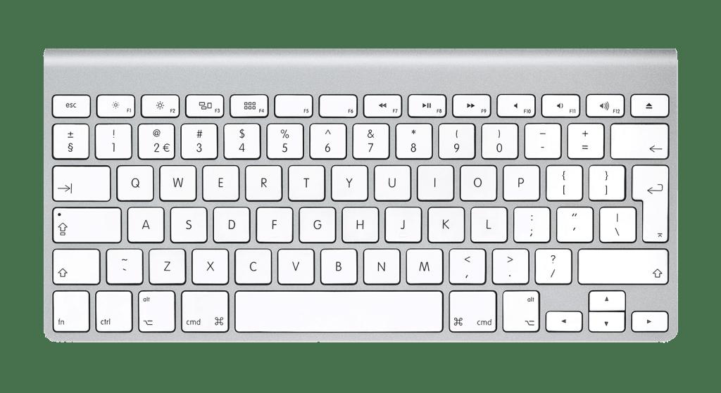 web designer's keyboard