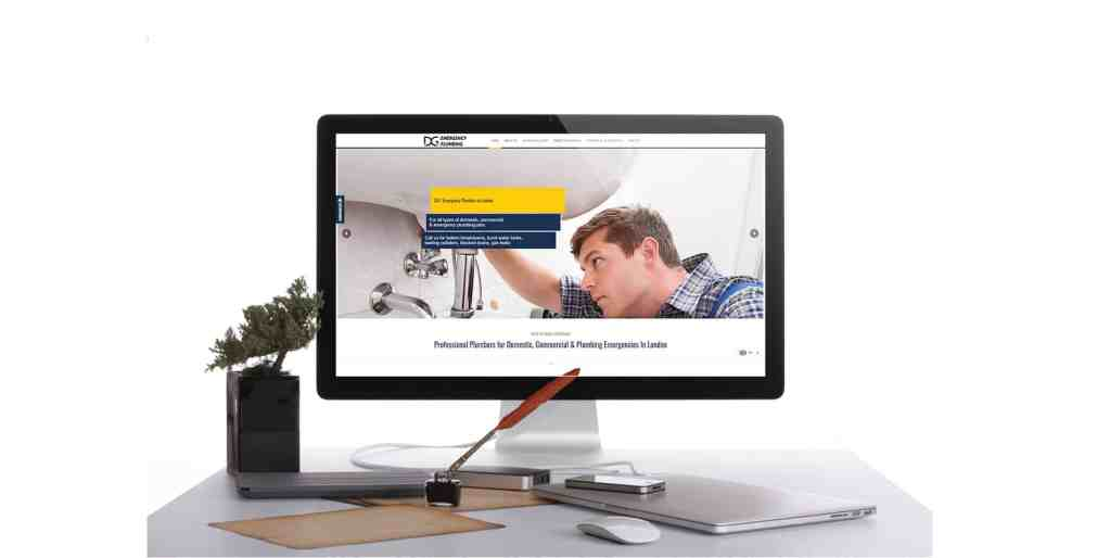 web design portfolio image