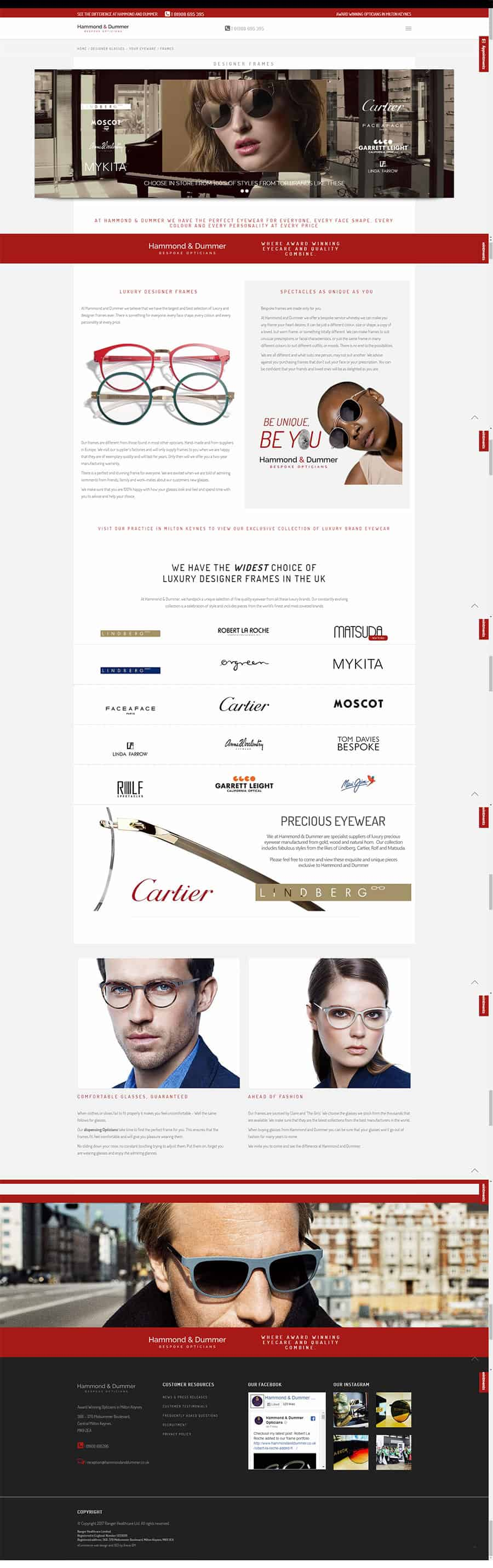 283a210ec7d New website launch for Milton Keynes  Leading Independent Optician ...