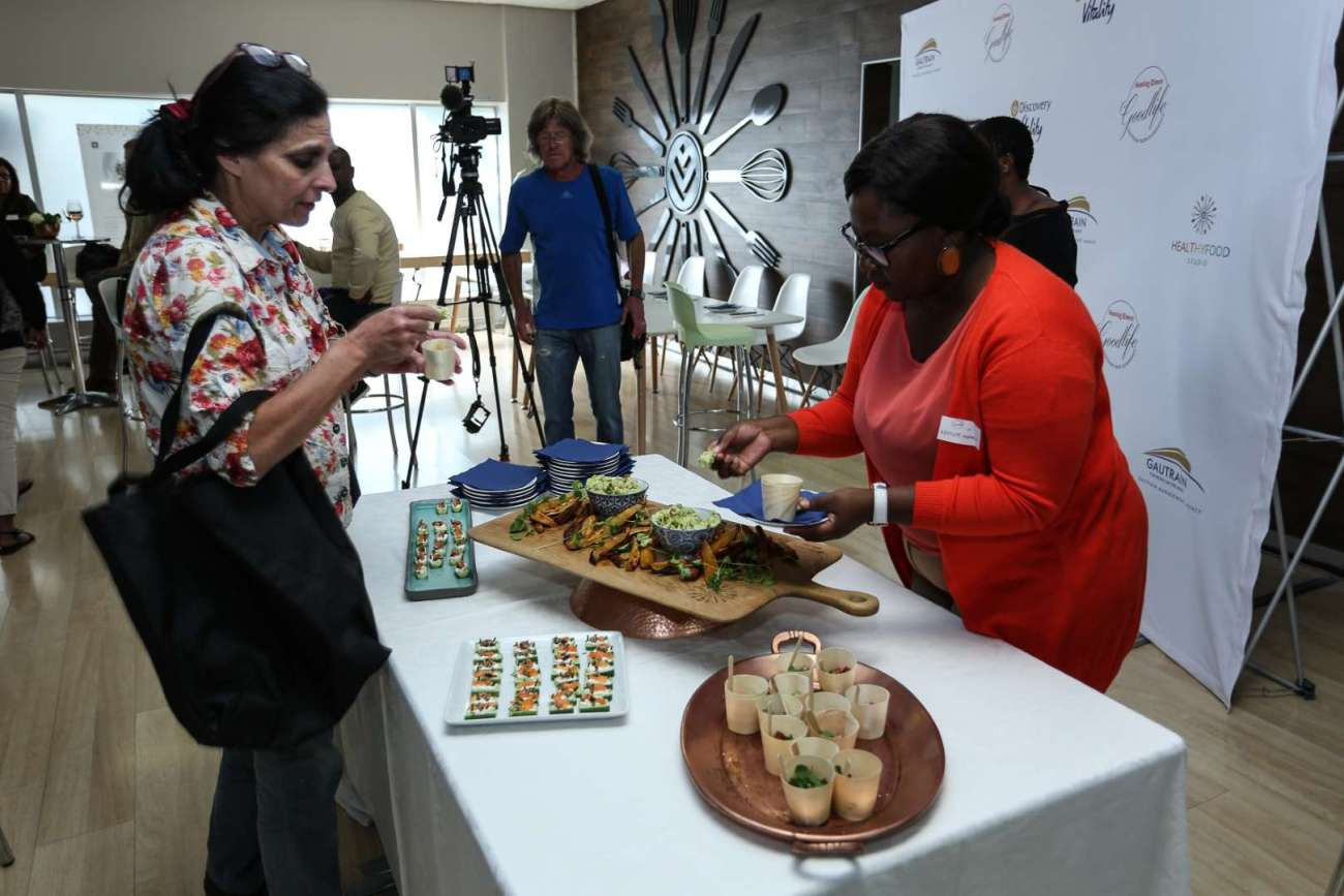 Photo from Sunday Times Gautrain Taste Experience with Gautrain