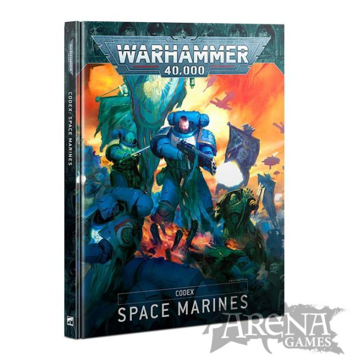 Codex: Space Marines (Hardback) (Castellano) | 48-01