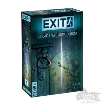 Exit: La Cabaña Abandonada – Juegos de Mesa – Devir