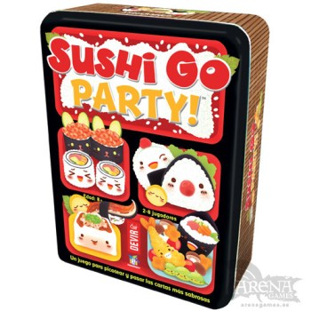 Sushi Go Party! – Juegos de Mesa – Devir