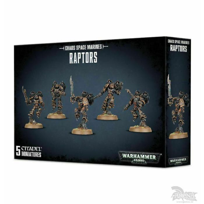 Chaos Space Marines Raptors | 43-13