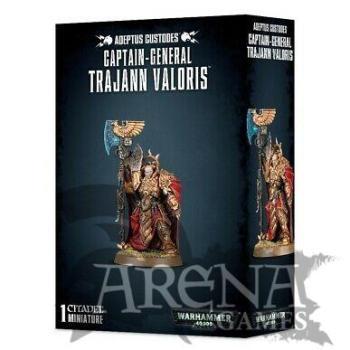 Adeptus Custodes Captain-General Trajann Valoris    01-10